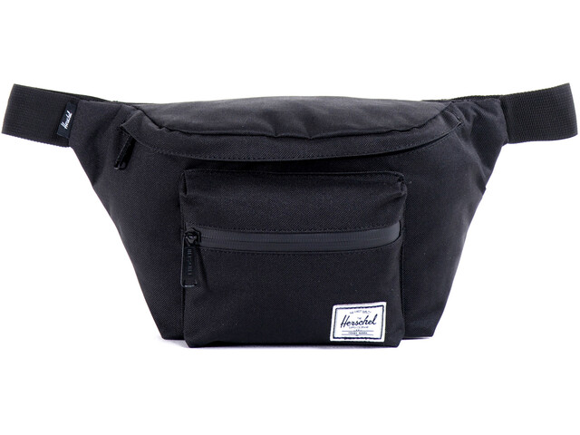 Herschel Seventeen Hip Pack Black/Black Zipper